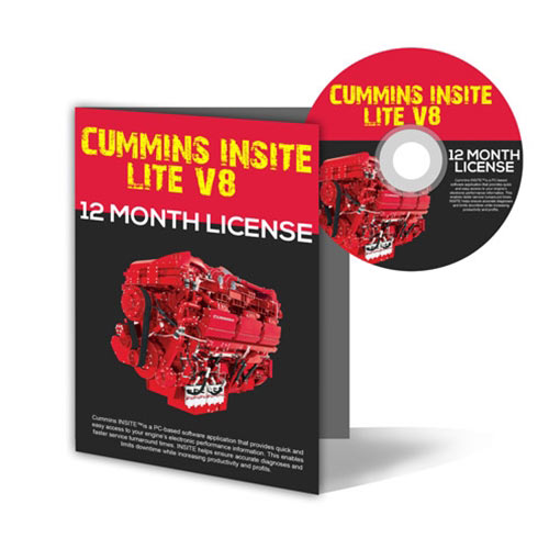 Cummins Insite Lite Version 8 5 Software Subscription